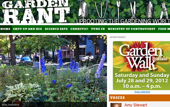 Garden Rant website