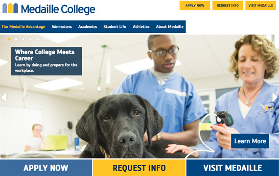 Medaille College website
